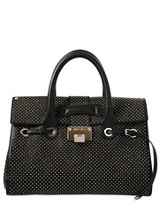 JIMMY CHOO  MEDIUM ROSALIE MICRO STUDDED LEATHER BAG Fashion Fall Winter 2013-14 (xecereterys) Tags: winter fall leather bag women top jimmy micro choo medium bags handles rosalie studded 2013 jimmychoomediumrosaliemicrostuddedleatherbagfallwinter2013womenbagstophandles