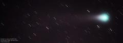 Comet Lovejoy (C/2013 R1) (The Dark Side Observatory) Tags: november canon stars timelapse 300mm astrophotography astronomy nightsky comet startrails lovejoy 2013 skytracker Astrometrydotnet:status=solved ioptron cometlovejoy tomwildoner Astrometrydotnet:id=nova157349