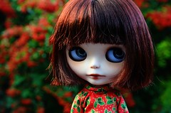Winter Berries (lily_whitebear) Tags: christmas doll blythe custom zaloa