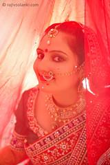 Under the Veil (Rajiv Solanki) Tags: wedding red india beauty bride photographer veil candid delhi indian culture weddingphotographyindelhi weddingphotographyindehradun