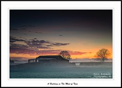 In the Mist of Time (barnowls07) Tags: autumn trees sunset mist cold nikon frost yorkshire ngc farming foggy northyorkshire scruton neilbarkerphotography