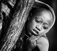 himba (peo pea) Tags: africa portrait people blackandwhite bw falls bn namibia ritratto bianconero himba epupa