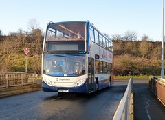 19666 - SP60 DPK (Cammies Transport Photography) Tags: bus coach fife 7 via 400 alexander dennis flyover stagecoach enviro kirkcaldy burntisland in inverkeithing hillfield 19666 sp60dpk