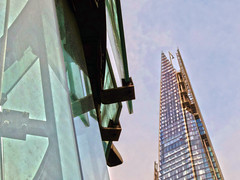 The Shard from Borough Market (Dun.can) Tags: london market boroughmarket borough shard southwark stalls se1 theshard