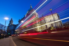 St Paul's Cathedral, London - 29/12/2013 (jeetdhillon) Tags: travel london night lights dusk tourist nightlife