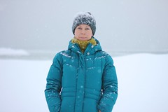 LSotY 2013 (sonyacita) Tags: blue winter snow hat self lsoty