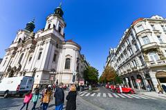 St. Nicholas Church (hgl428) Tags: church nikon czech prague cathedral  stnicholaschurch  d800 2470mm     staromstsknmst praha 1424mm   cathedralofstvita