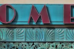 O M E (penfoto) Tags: building green exterior terracotta artdeco pasadena 2014 lindenoptometry 477ecoloradoblvd