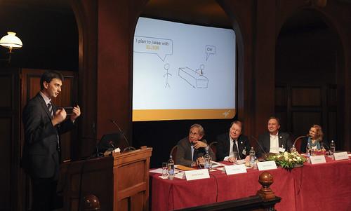 Jérôme Wojcik's presentation