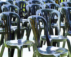 Chairs (chrisk8800) Tags: barcelona street city urban composition contrast photography spain chairs structure panasonic form shape street photography tz20
