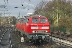 P1500536 (Lumixfan68) Tags: eisenbahn db bahn deutsche 218 loks baureihe dieselloks