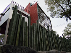 Mexico DF - House Diego Rivera & Frida Kahlo (BurnOsoleil) Tags: city house mexico casa df diego frida workshop taller capitale maison federal kahlo rivera atelier distrito df