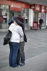 Hugs (The Image Den) Tags: people canon hugging affection candid streetphotography hampshire hugs southampton towncentre abovebar s100 grabshot vision:outdoor=0907 vision:sky=0585