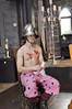 Mummy's boy (Roving I) Tags: costumes tourism vertical hearts actors comedy australia victoria polkadots lipstick ballarat helmets mummysboy themeparks longjohns melodramas kryalcastle