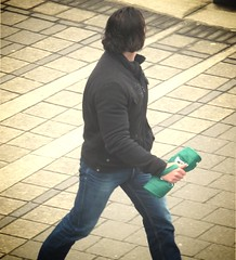 (ManontheStreet2day) Tags: male hunk crotch jeans bluejeans stud bulge