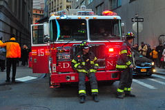 FDNY Tower Ladder 15 (Triborough) Tags: nyc ny newyork tower manhattan firetruck financialdistrict fireengine ladder wallstreet fdny ladder15 lowermanhattan seagrave newyorkcounty towerladder newyorkcityfiredepartment towerladder15