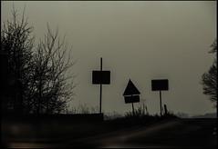 20140307-41 (sulamith.sallmann) Tags: road street silhouette sign germany way bayern deutschland europa traffic schild franken verkehr weg verkehrsschild ortsschild verkehrszeichen schattenriss ortsname sulamithsallmann placenamesign strae landstrae