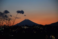 Dusk.. (Shubhashish Chakrabarty) Tags: japan dusk mountfuji 日本 yokohama 横浜 富士山 夕方 清水ヶ丘公園