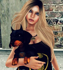 My Bat Dog  (Ashlene McMinnar (Blogger & Photographer)) Tags: ga batman exile ikon mock birdy batdog tmd slink dstyle themensdepartment mokatana glamaffair deliriumstyle spectraleyes