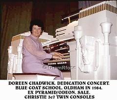 Doreen Chadwick (4) (gramrfone) Tags: cinema theatre organists