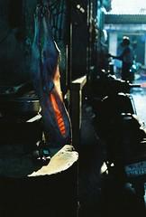butcher's shop (Gwenaël Piaser) Tags: inde india 2014 february février 50mm carlzeiss zeiss50mmmakroplanarze makro planar makroplanar50mm carl zeiss zeissmakroplanart250ze carlzeissmakroplanart250 makroplanar macro makroplanar502ze makroplanart250 ze prime unlimitedphotos gwenaelpiaser canon eos canoneos eos50e canoneos50e elaniie analog canonelaniie eos55p canoneos55p reflex photography argentique 135 24x36 fullframe kodak c41 cinestill cinestill800isotungstenxproc41 800asa iso800 tungsten 800tungsten cinestill800t film negative negatif 800tungstenxproc41 pondicherry pondichéry puducherry புதுச்சேரி பாண்டிச்சேரி marché market goubert meat biande boucherie butchersshop manual 5000