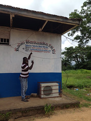 GTF radio station partner in Sierra Leone