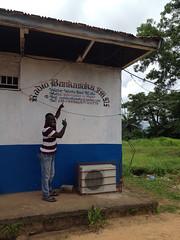 GTF radio station partner in Sierra Leone