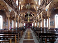 Interior of Saint Peter and Paul Cathedral