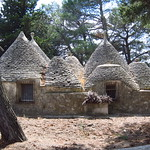 "Trulli along the Ciclovia dell'Acquedotto <a style=""margin-left:10px; font-size:0.8em;"" href=""http://www.flickr.com/photos/14315427@N00/19349972085/"" target=""_blank"">@flickr</a>"