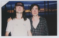Nick + Sam (emily_quirk) Tags: friends sunset film festival twins waterfront nashville kentucky instant louisville musicfestival forecastle instantfilm forecastlefest nickwilkerson emilyquirk whitereaper samwilkerson louisvillelocal
