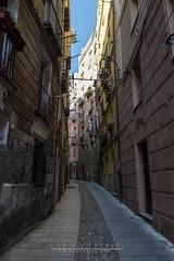 Strada (Obiettivo Leonch) Tags: seleziona strada road via castello cagliari sardegna italy italia sardinia sigma canon eos600d