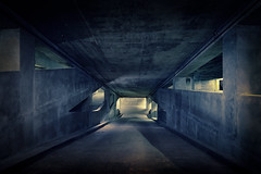 The Chute (shutterclick3x) Tags: parking deck garage moody concrete brutalist frankloose