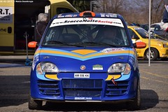 Fiat Seicento Sporting (MattiaDeambrogio) Tags: fiat seicento sporting kit scaccomatto racing rivarolo rally ronde del canavese parco assistenza abarth
