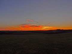 Sunrise in South Huntingdon Twp, PA (George Neat) Tags: sunrise south huntingdon township twp westmoreland county pa pennsylvania morning sun landscapes scenic george neat patriot portraits