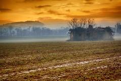 casolare (Riboli Alessandro) Tags: clanezzo casolare campagna hdr nikon nikkor d2x field campo inverno colore landscape