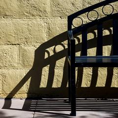 Take Yer Shoes Off, Set A Spell... (jah32) Tags: bench shadow shadows streetscene streetscenes street sw casagrande arizona