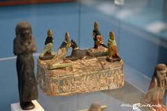Miniature sarcophagus (konde) Tags: ptolemaicperiod sarcophagus coffin miniature model ba anubis djed wood ancient art treasure