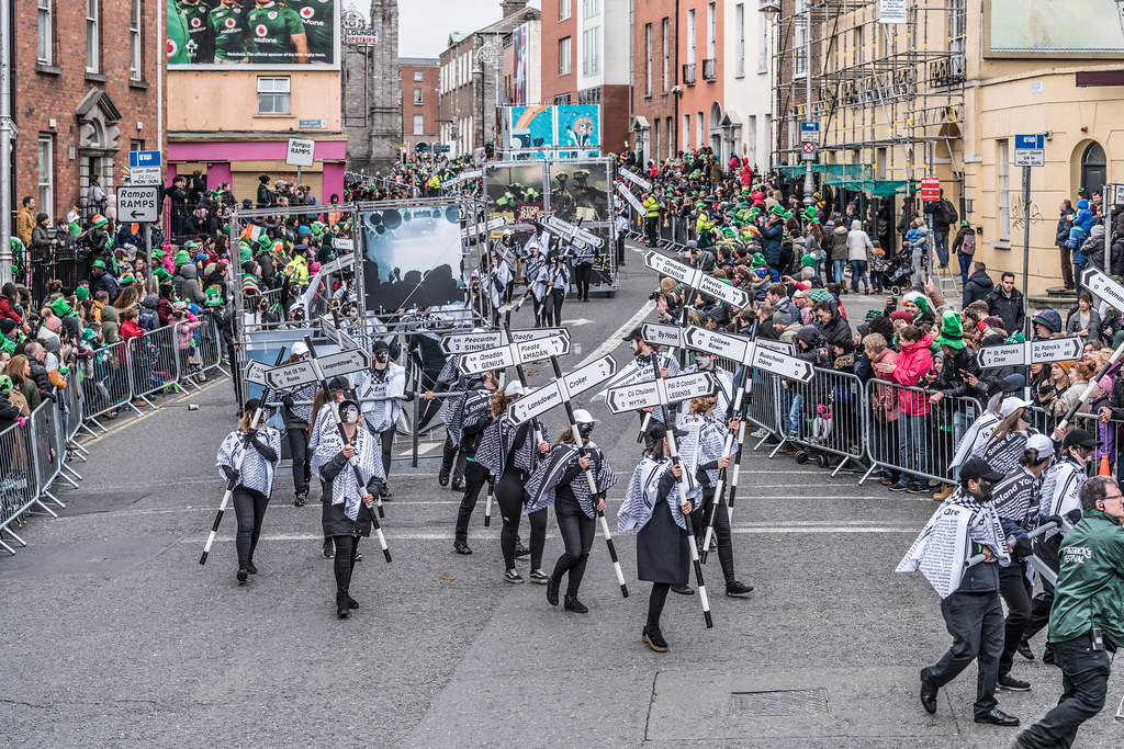 DUBLIN INSTITUTE OF TECHNOLOGY [PATRICKS DAY PARADE IN DUBLIN 2017]-126057