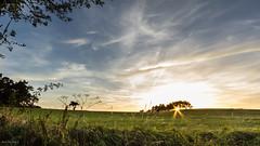 Sunset (Ben Mouleyre Photographie) Tags: sunset auvergne hauteloire automne coucherdesoleil nuages champs ciel