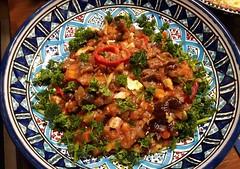 Culinary achievements of my two men (Elisa1880) Tags: nederland netherlands cous eten food culinary achievements kookkunsten tunesische schaal