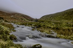 Upstream (GarethBell) Tags: wales gwynedd carneddau north northwales uk outdoors outside canon 6d canon6d hdr 35mm river stream clouds mountains high altitude flowing water wet running