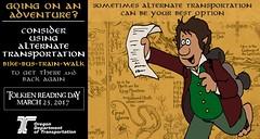 The Hobbit: An Adventure! (OregonDOT) Tags: tolkienreadingday tolkien socialmedia alternatetransportation modes oregondot oregon