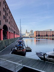 IMG_0318.jpg (sarah4333) Tags: liverpool march sunnydocks city centre mersey side reflections reflection modern building albert quay museum historical warehouse red brick water basin sunny dock merseyside buildings