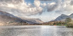 Padarn lake view.