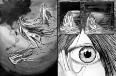 La Naissance de Nlumba (BD/Roman Graphique) (Studinano, by Shou') Tags: woman flower fleur girl monster ink paper de lotus roman drawing web femme birth internet manga cyclops dessin story histoire sur draw papier bd fille naissance chine feuille encre monstre bande graphique cyclope dessine drawingnaissancenelumbae
