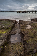 Channel (duncan_mclean) Tags: sea seascape landscape bay pier auckland torpedo channel devonport