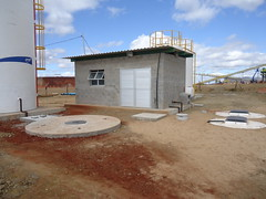 Water tanks and facility (largoresources) Tags: construction mining maracas largo resources vanadium largoresources maracasvanadiumproject