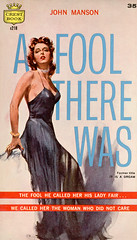 A Fool There Was (McClaverty) Tags: illustration paperback johnmanson