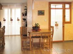 "Panel Japonés y Visillos para cocina rústica • <a style=""font-size:0.8em;"" href=""http://www.flickr.com/photos/67662386@N08/9194697620/"" target=""_blank"">View on Flickr</a>"