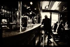 a pint in the hobgoblin - bath (fat-freddies-cat 1 and  million views) Tags: england beer silhouette pub nikon bath somerset pint